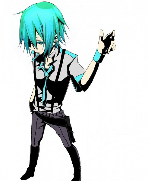 Tags: Anime, Vocaloid, Hatsune Mikuo, Wristband