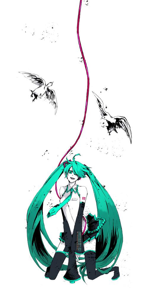Tags: Anime, Buzz, VOCALOID, Hatsune Miku, Love is War, Pixiv