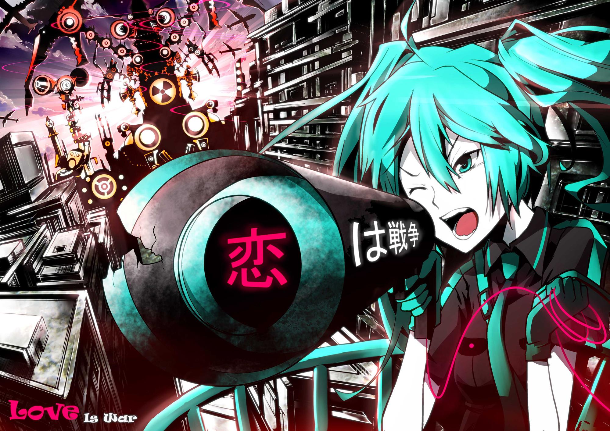 Tags Anime Sea Lordofk VOCALOID Hatsune Miku Radioactivity Sign