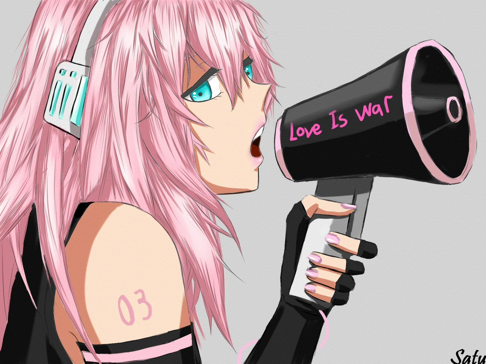 Love is War - VOCALOID - Image #708327 - Zerochan Anime ...