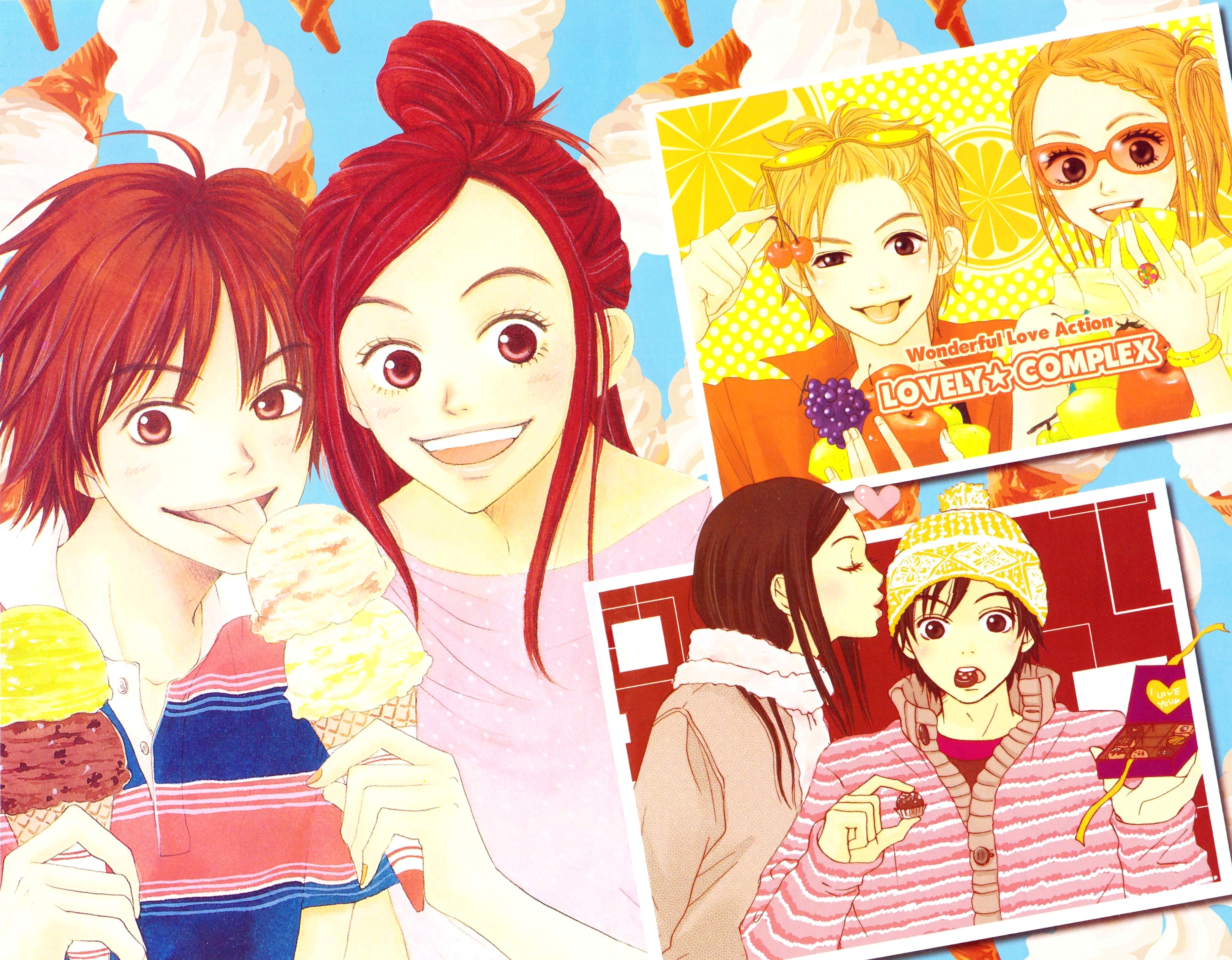 Image Result For Image Result For Lovely Complex Wallpaper Anime Anime