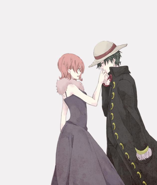 Tags: Anime, Kuroico, ONE PIECE, Strong World, Monkey D. Luffy, Nami (ONE PIECE), Cestido, Fanart, Pixiv, Straw Hat Pirates, LuNa (Pairing)