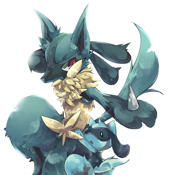 Tags: Anime, Inumimi-syndrome, Pokémon, Lucario, Riolu