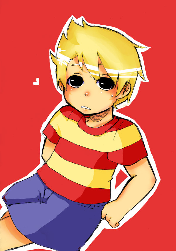 Earthbound Characters Lucas