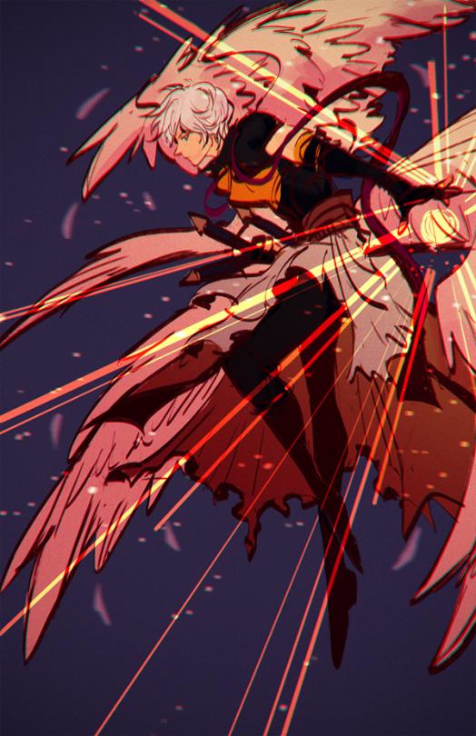 Tags: Anime, Rondeau, Granblue Fantasy, Lucifer (Shingeki no Bahamut), PNG Conversion, Mobile Wallpaper, Fanart