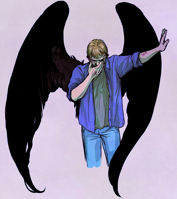 Lucifer (Supernatural), Fanart