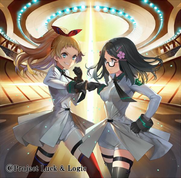 Tags: Anime, Matsui Hiroaki, Bushiroad, Luck & Logic (TCG), Chloe Maxwell, Yurine Tamaki, Official Art, Official Card Illustration