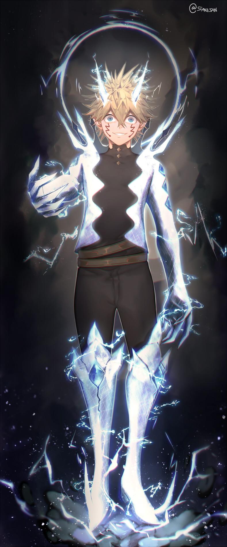 Luck Voltia Black Clover Zerochan Anime Image Board