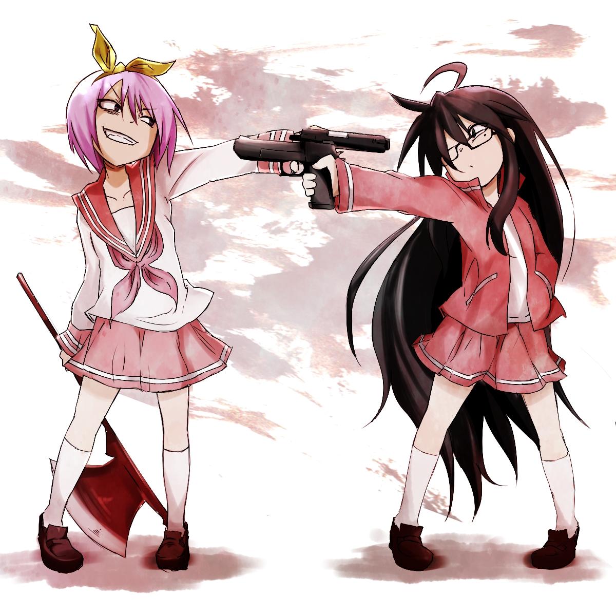 Anime Characters Kuudere : Lucky☆star image zerochan anime board