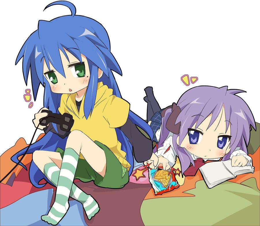 Lucky star konata video games