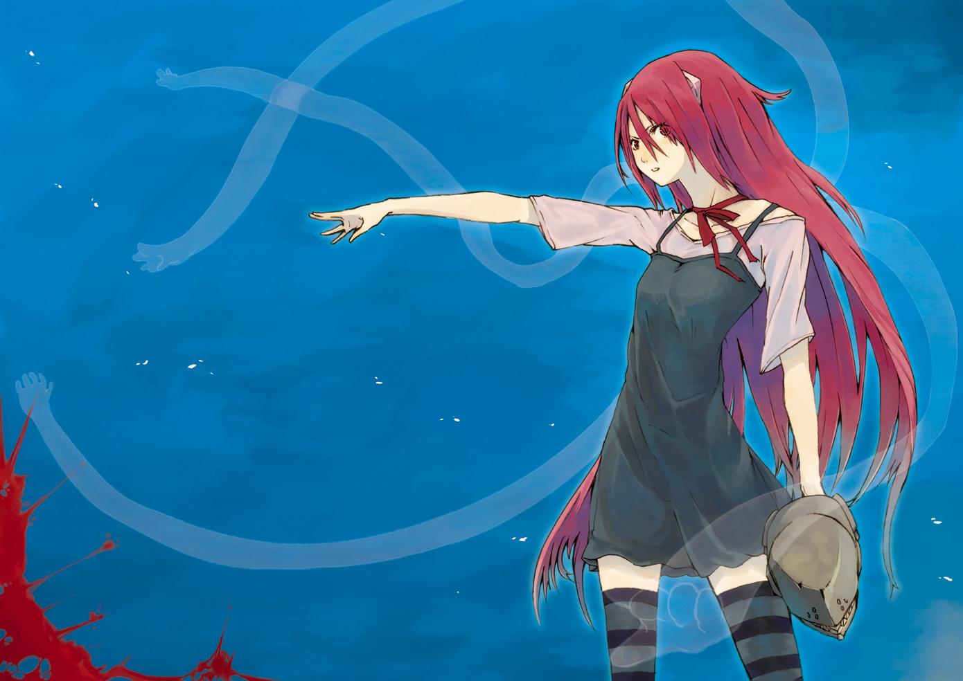 Lucy Elfen Lied Kaede Elfen Lied Zerochan Anime