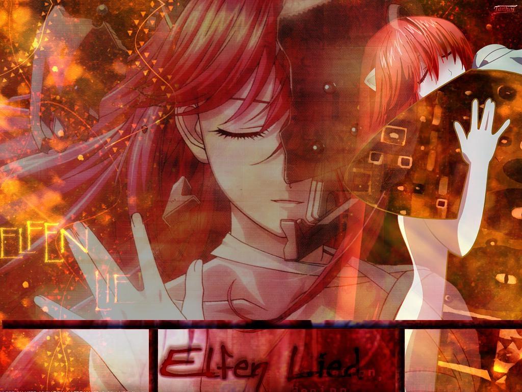 lucy elfen lied  kaede elfen lied  wallpaper 350581