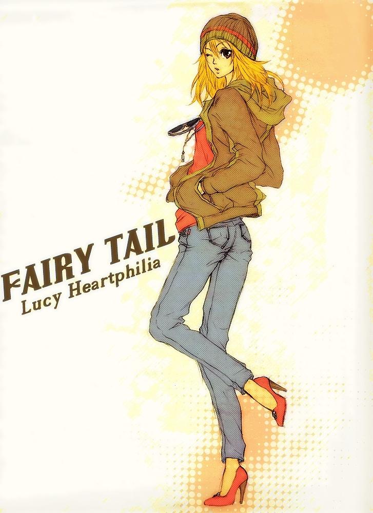 Lucy heartfilia fairy tail - 4 6