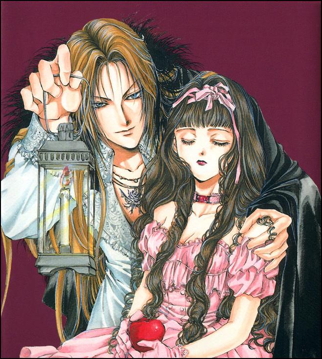 Tags: Anime, Kaori Yuki, Snow White and the Seven Dwarfs, Ludwig Kakumei, Ludwig Kakumei (Character), Snow White, Blanche (Ludwig Kakumei), Official Art