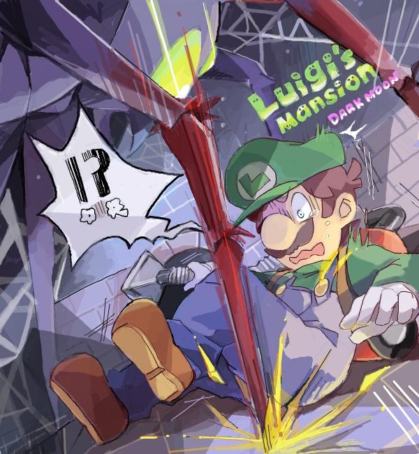 Tags: Anime, Kayako, Luigi's Mansion, Super Mario Bros., Luigi