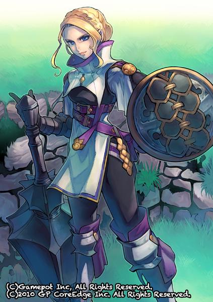Tags: Anime, Minagawa Fumio, Alteil, Luisa (Alteil), Official Art, Pixiv, Official Card Illustration, Falkow, Refess