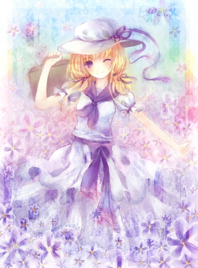 Tags: Anime, Effier Kyo, Touhou, Luize, Pixiv, PC-98 Touhou Era