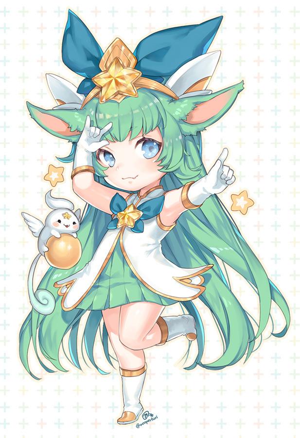Lulu (League of Legends) Mobile Wallpaper