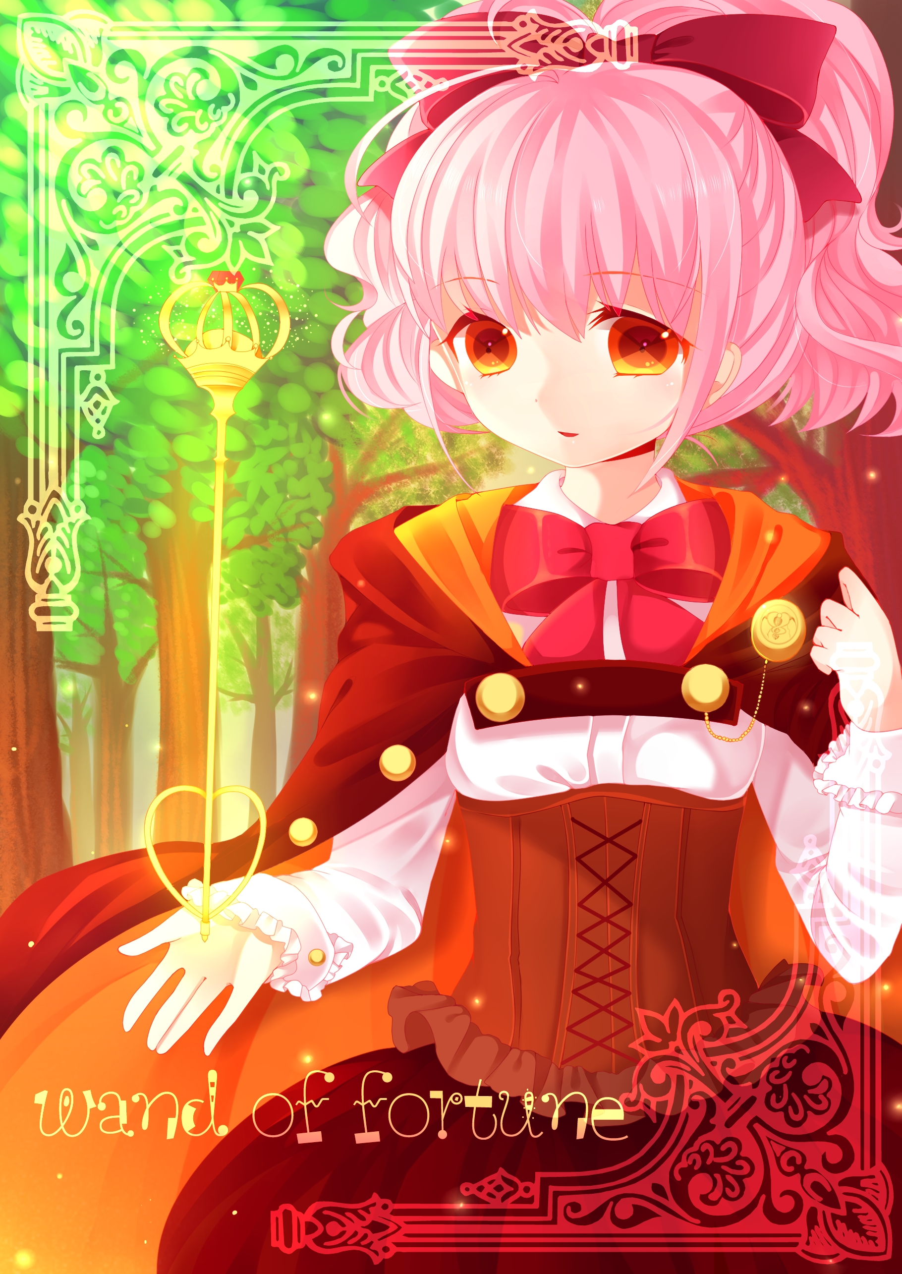 Pixiv id 3331479 zerochan anime image board for Wand of fortune