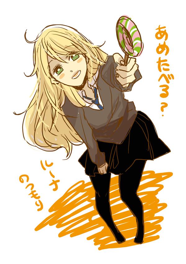 Tags: Anime, Youichi (Bread1104), Harry Potter, Luna Lovegood, V-neck, Fanart, Mobile Wallpaper, Pixiv, Ravenclaw House