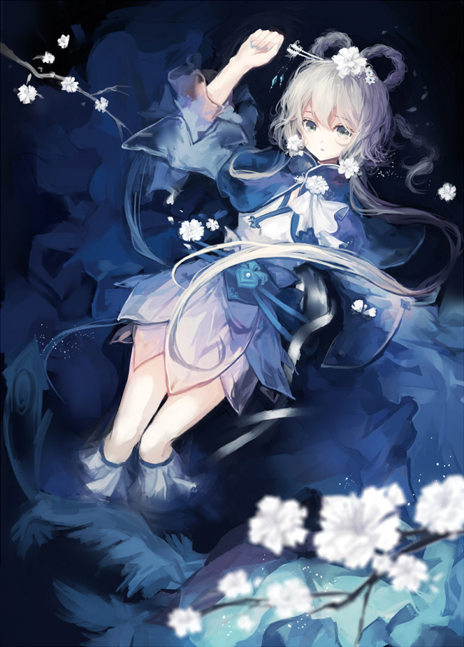 Tags: Anime, Pixiv Id 2583663, VOCALOID, Luo Tianyi, Fanart, Fanart From Pixiv, Pixiv, Mobile Wallpaper
