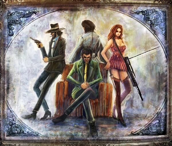 Tags: Anime, Bccp, Lupin III, Mine Fujiko, Arsene Lupin III, Ishikawa Goemon XIII, Jigen Daisuke