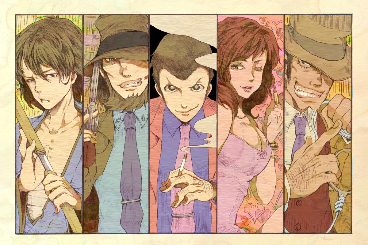 Lupin Iii Image 932771 Zerochan Anime Image Board