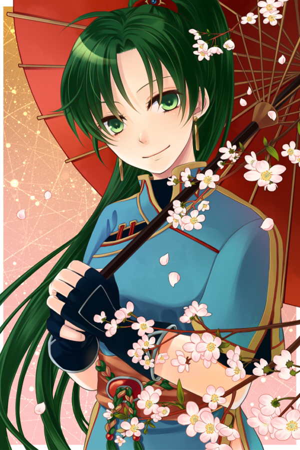 Tags: Anime, Kiyuu, Fire Emblem: Rekka no Ken, Lyn (Fire Emblem), Mobile Wallpaper