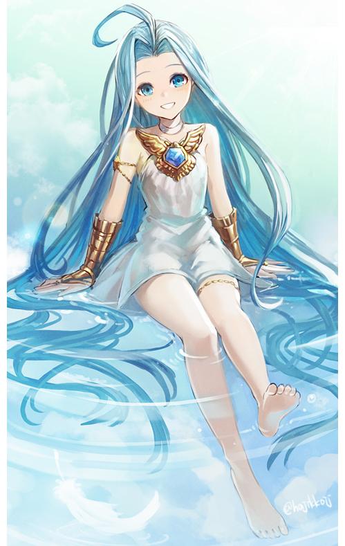 Tags: Anime, Pixiv Id 29747886, Granblue Fantasy, Lyria (Granblue Fantasy)
