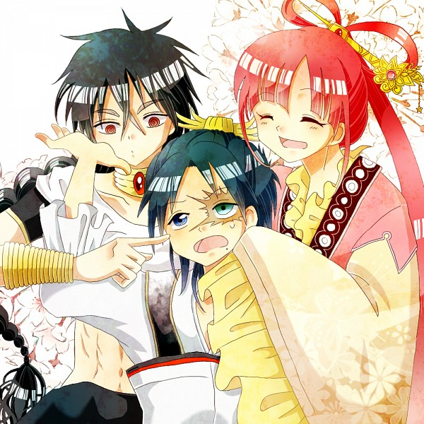 Tags: Anime, Pixiv Id 3383882, MAGI: The Labyrinth of Magic, Ren Hakuryuu, Ren Kougyoku, Judar, Hair Rings