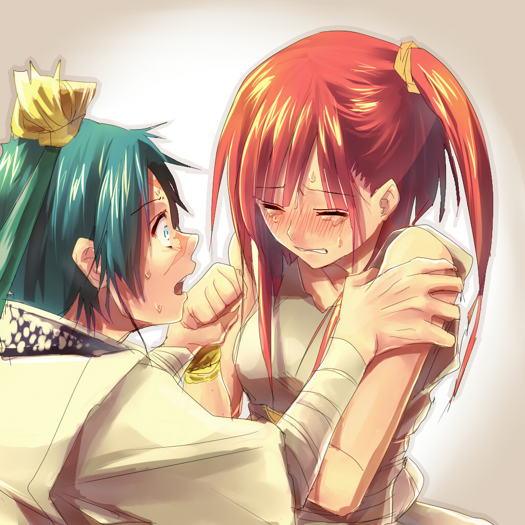 magi alibaba and morgiana kiss - photo #25