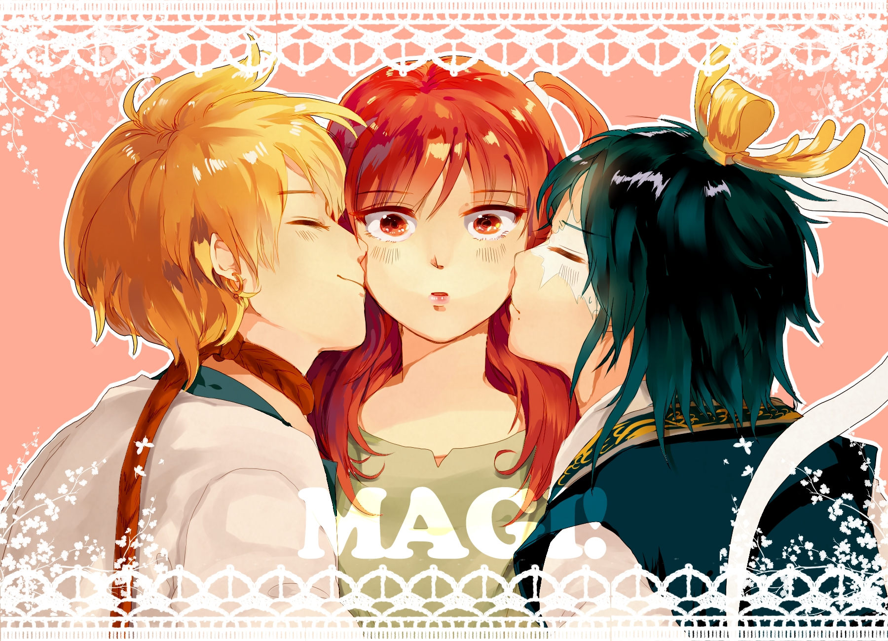 magi alibaba and morgiana kiss - photo #4