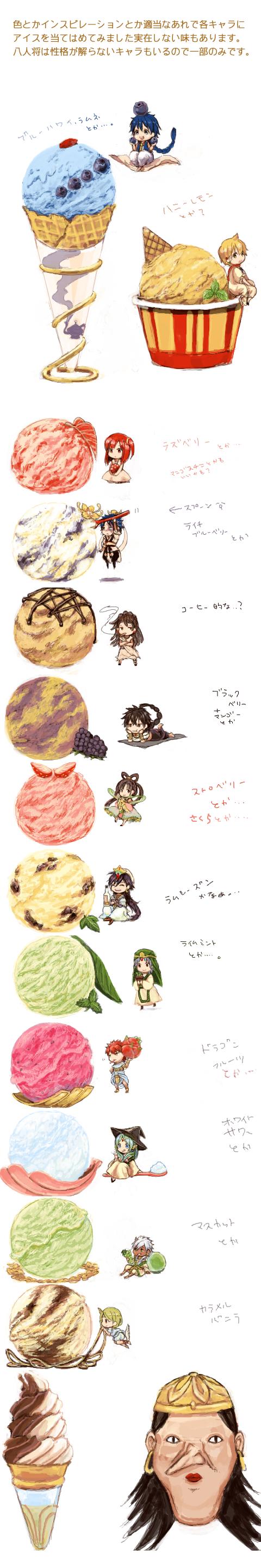 Tags: Anime, Te Okure, MAGI: The Labyrinth of Magic, Sharrkan, Sinbad, Elizabeth (Magi), Ren Hakuryuu, Morgiana, Masrur, Ja'far, Pisti, Ren Kougyoku, Kassim, The Labyrinth Of Magic Magi