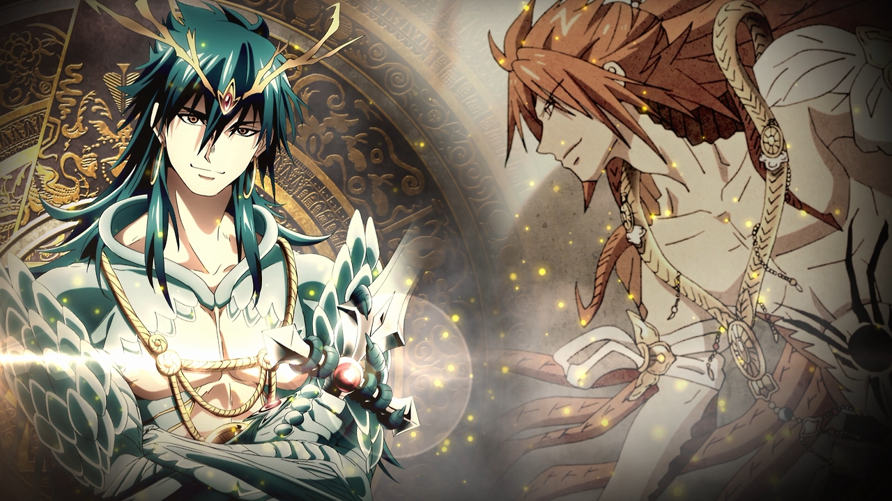 ... download MAGI: The Labyrinth of Magic image