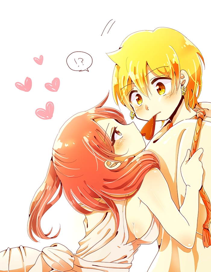 magi alibaba and morgiana kiss - photo #19