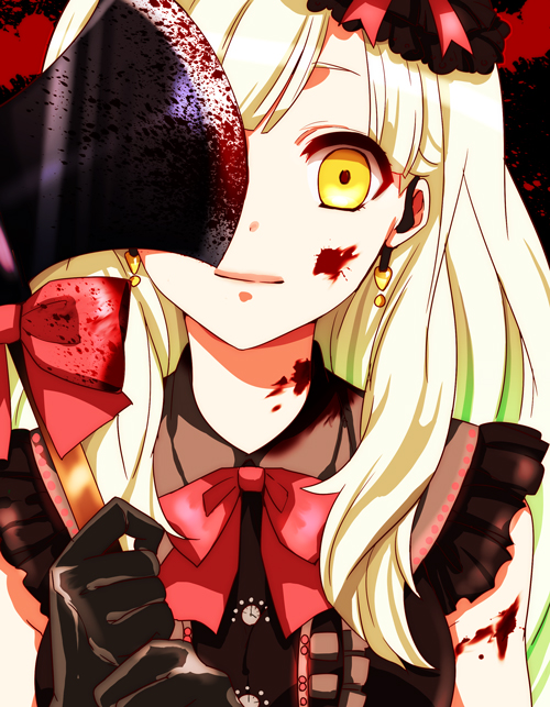 Tags: Anime, Sacchan (Hn0816), VOCALOID, MAYU (VOCALOID), Blood On Weapons, Fanart, Fanart From Pixiv, Pixiv