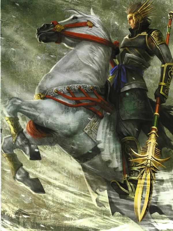Tags: Anime, Koei, Dynasty Warriors, Ma Chao, Horseback Riding