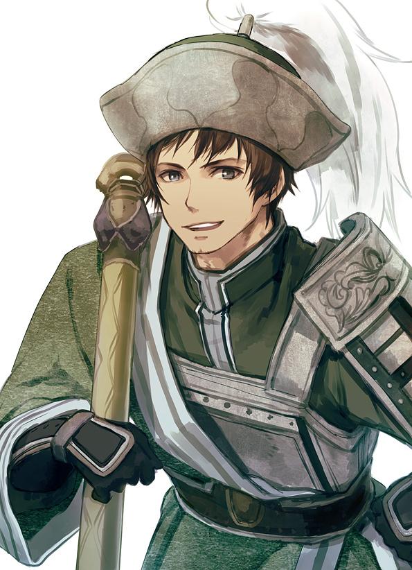 Tags: Anime, Miyuki Ruria, Dynasty Warriors, Ma Dai, Mobile Wallpaper, Pixiv