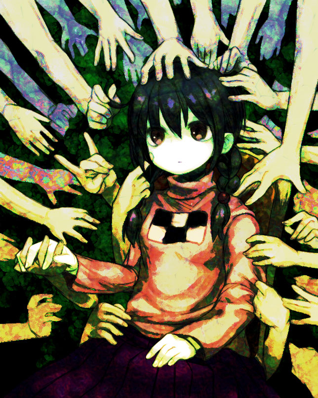 Tags: Anime, Pixiv Id 249410, Yume Nikki, Madotsuki, Fanart, Fanart From Pixiv, Pixiv