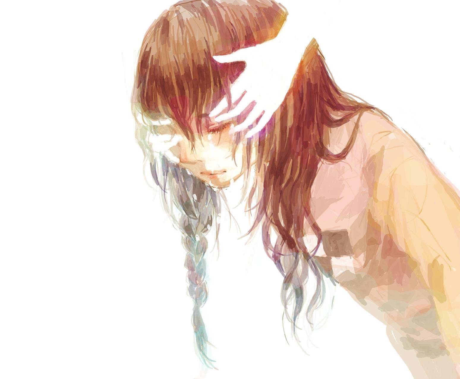 бывают грусть слезы арты разные