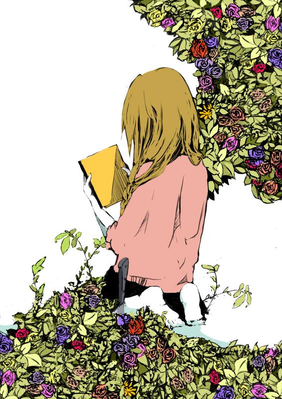 Tags: Anime, Sukurudo2, Yume Nikki, Madotsuki, Pixiv, Mobile Wallpaper, Fanart