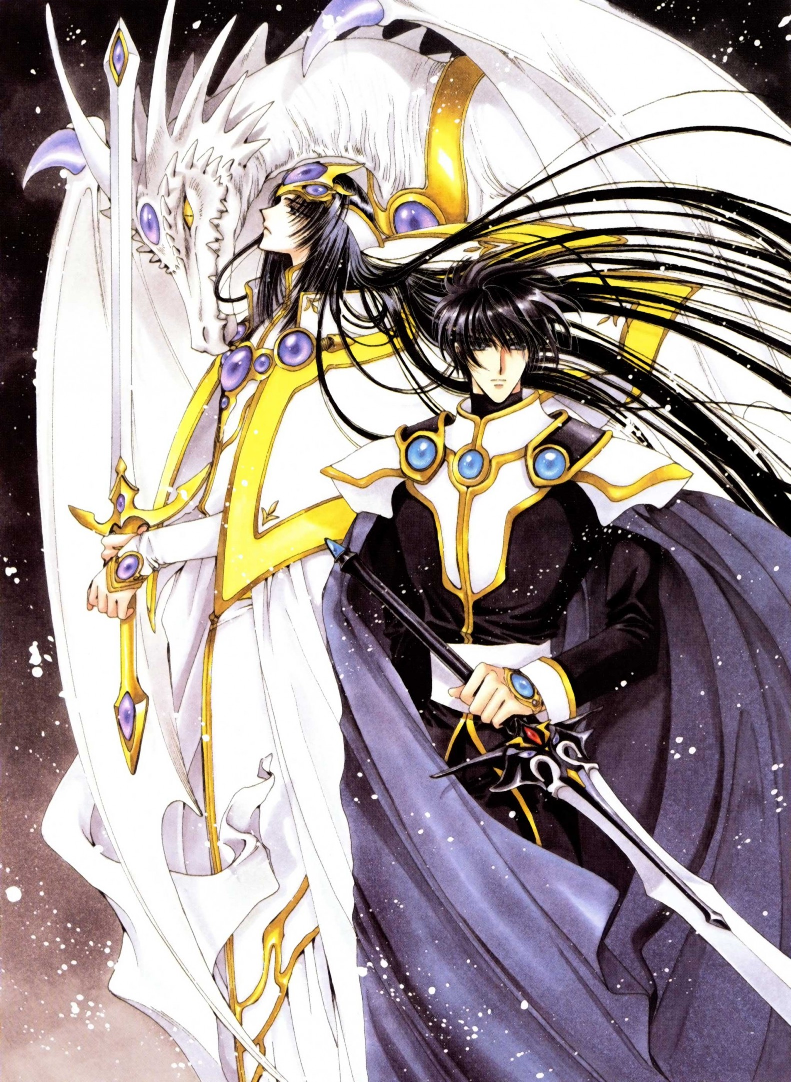 magic knight rayearth - clamp - image  47969