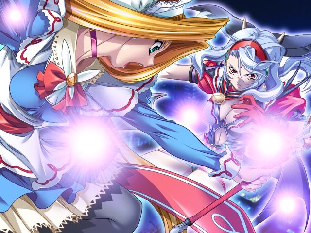 Tags: Anime, Terios, Magical Canan, Cerulean Blue (Magical Canan), Mizushiro Sayaka, Septem (Magical Canan), Kojima Emi, CG Art