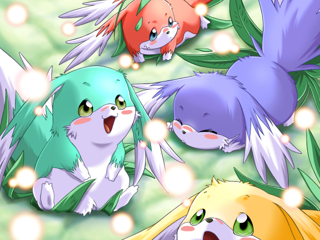 Tags: Anime, Yokota Mamoru, Terios, Magical Canan, CG Art