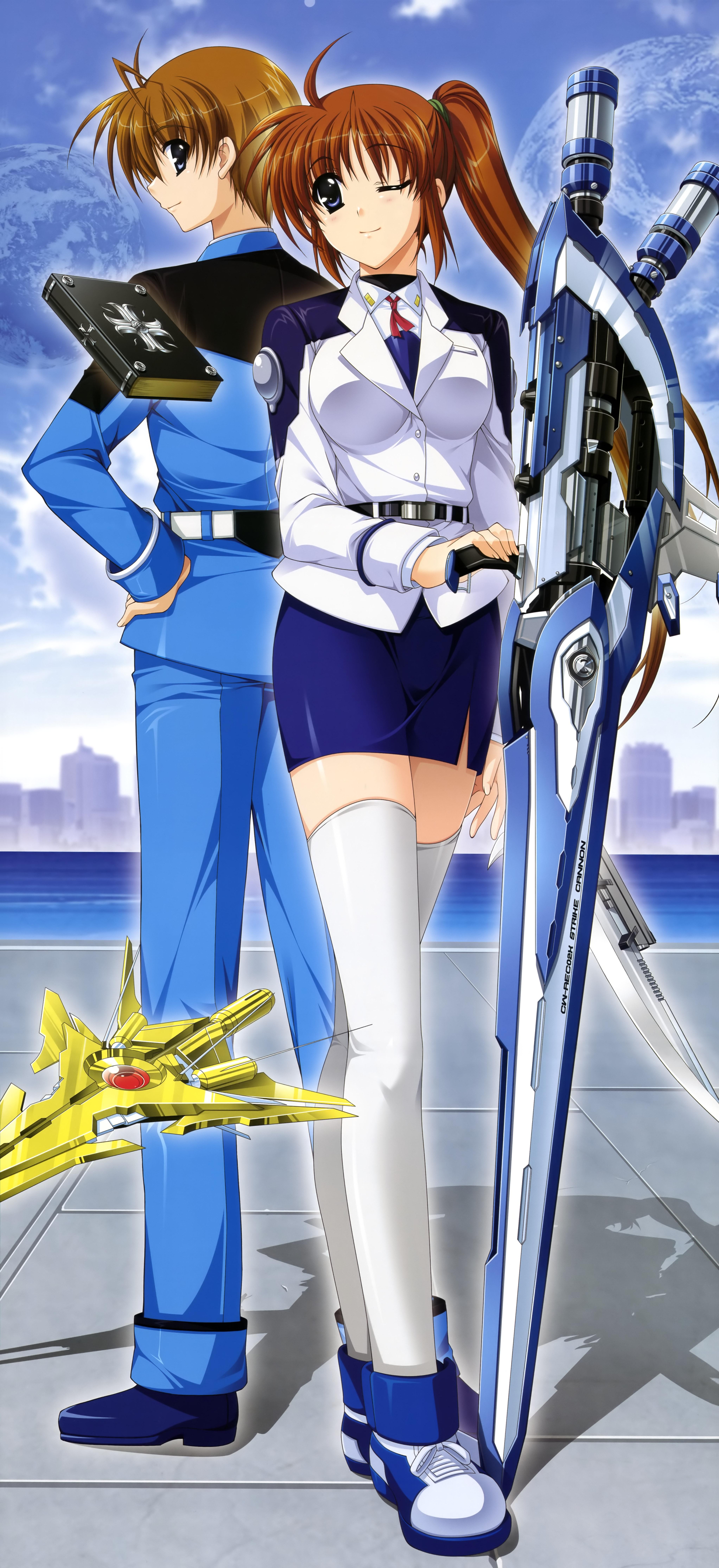 Mahou shoujo lyrique nanoha cosplay nanoha takamachi