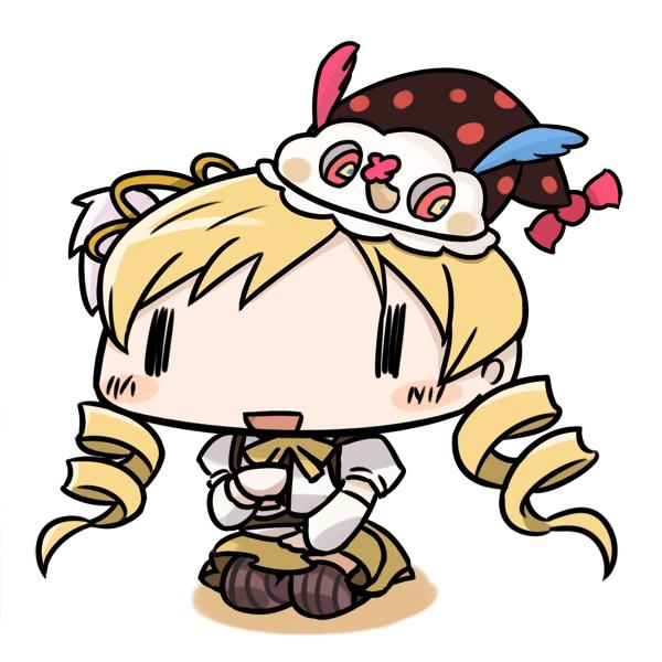 Tags: Anime, Denden, Mahou Shoujo Madoka☆Magica, Charlotte (Madoka Magica), Tomoe Mami, Magical Girl Madoka Magica