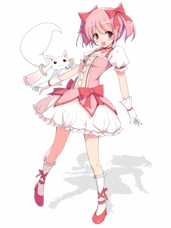 Tags: Anime, Mahou Shoujo Madoka☆Magica, Kaname Madoka, Kyubee
