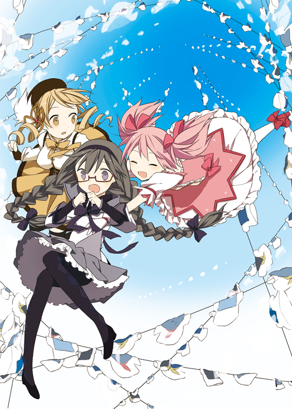 Tags: Anime, Rin (Royal), Mahou Shoujo Madoka☆Magica, Tomoe Mami, Kaname Madoka, Akemi Homura, Magical Girl Madoka Magica