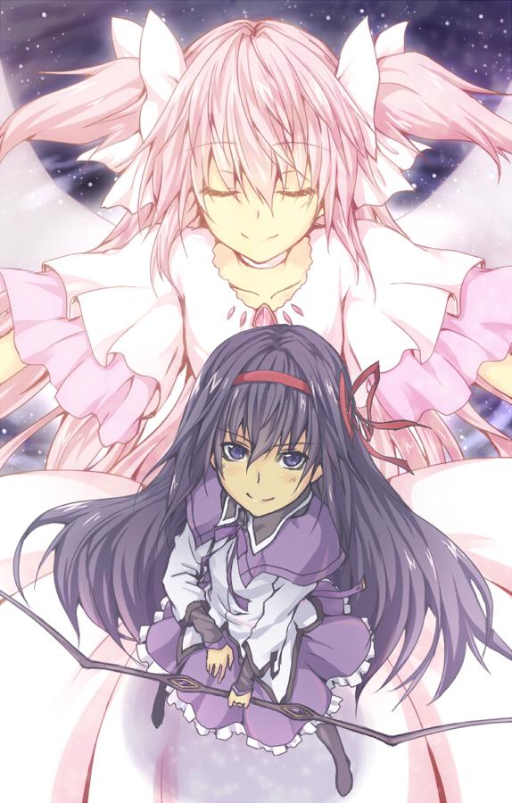 Tags: Anime, Oukawa Yuu, Mahou Shoujo Madoka☆Magica, Ultimate Madoka, Kaname Madoka, Akemi Homura