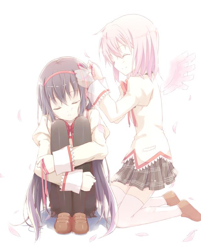 Tags: Anime, Kinoshita Neko, Mahou Shoujo Madoka☆Magica, Kaname Madoka, Akemi Homura, Magical Girl Madoka Magica